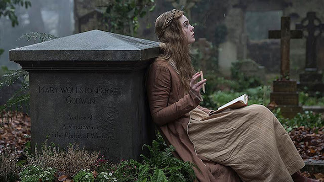 Ainda do filme sobre Mary Shelley