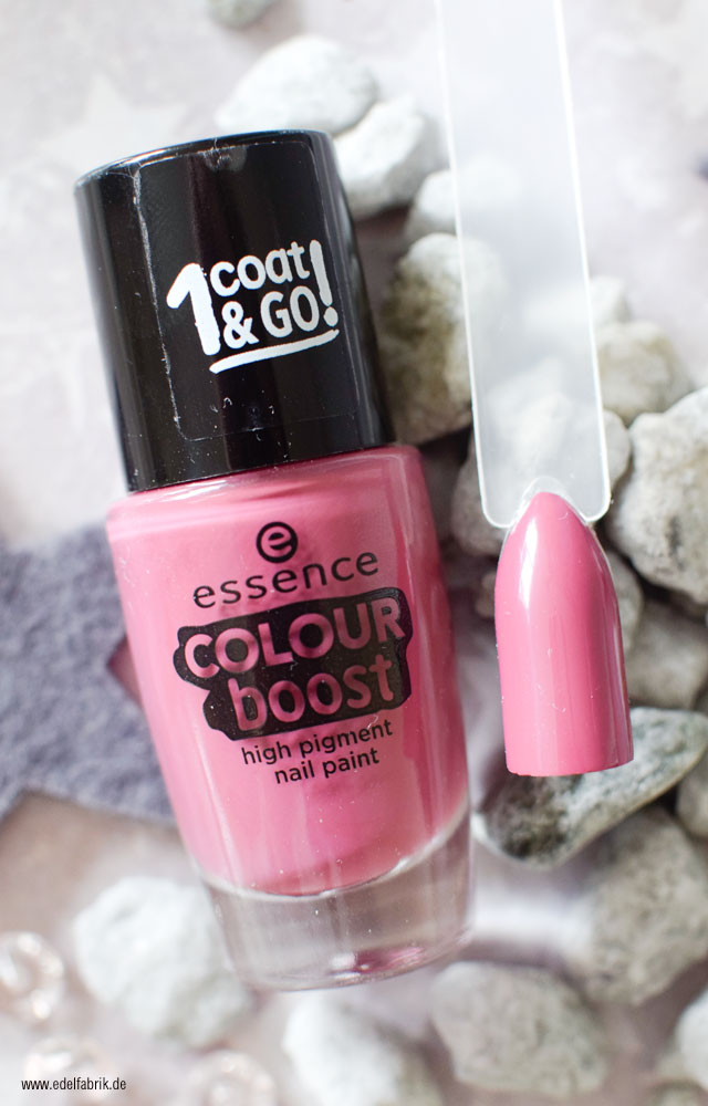 essence color boost / 07 instant feeling, Swatch