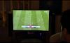 تركي آل الشيخ يكسر التلفاز  خلال مباراة التحدي مع سعود آل سويلم