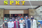 OKP Cipayung Plus Mataram Datangi Polda NTB, Laporkan Airlangga Hartato