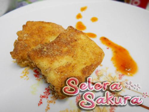 Roti Sardin Goreng