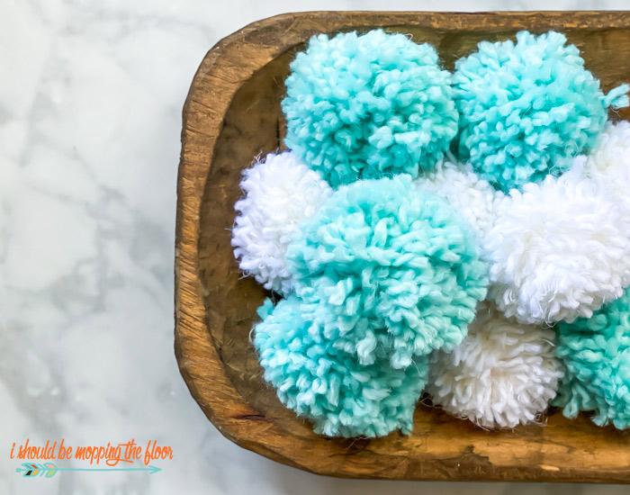 Yarn Pom Pom Ideas