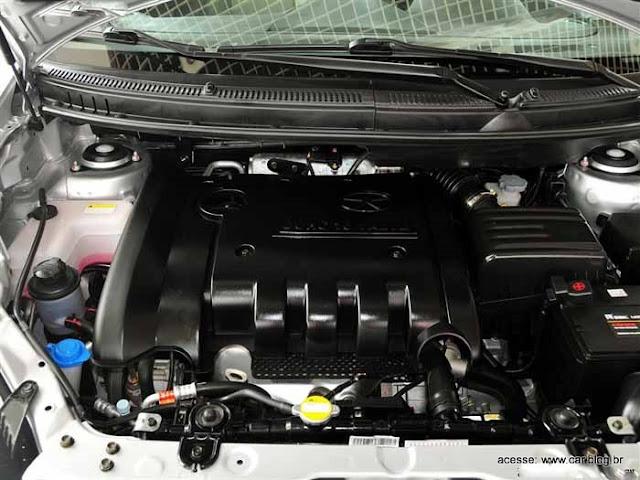 motor da Nova Jac J6