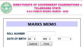 Manabadi TS SSC Results 2020 Declared