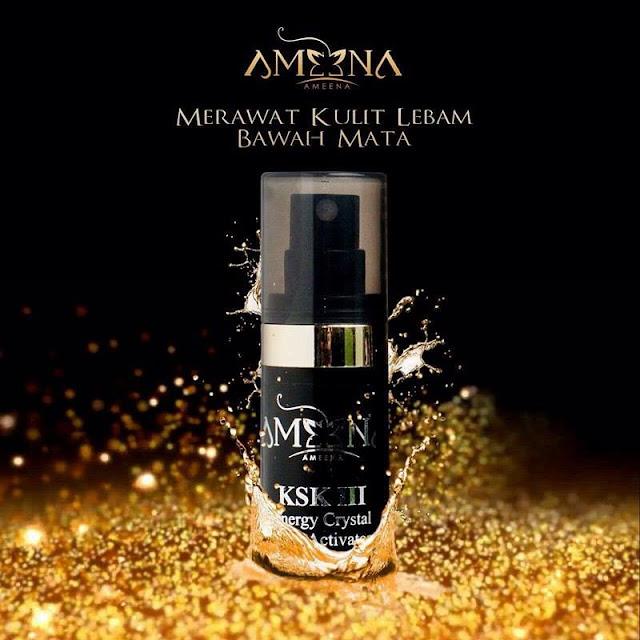 Ameena KSK III Hilangkan Lingkaran Gelap Bawah Mata