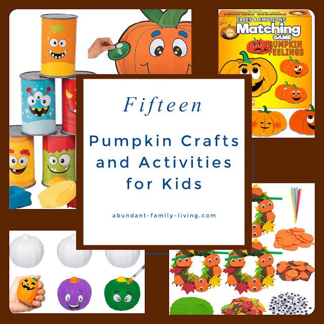Pumpkin Crafts and Activities for Kids