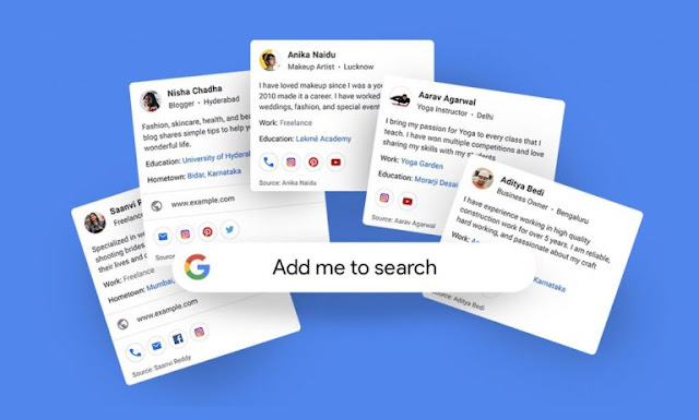 Make Google People Cards as Virtual Visiting Card 'People Card'