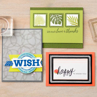 Stampin' Up! Swirly Frames Cards
