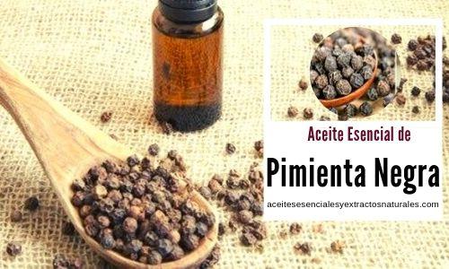 El Aceite esencial de pimienta negra, usos en aromaterapia para sabañones, anemia, artritis, etc.