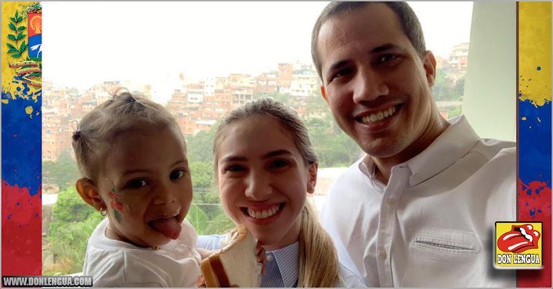 Juan Guaidó celebra la navidad en Petare con la hija de Pipo