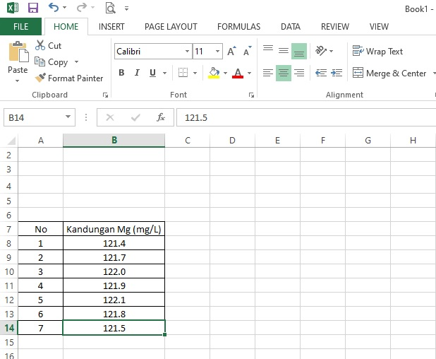 cara membuat control chart atau peta kendali