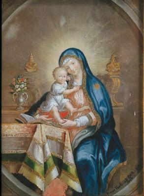La Mère à l'Enfant Jesus (1754), Anna Maria Barbara Abesch