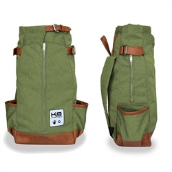 K9 Sport Sack Forward Facing Backpack Dog Carrier - Olive Green