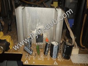 Kasus Baru TV Polytron Slim IC Vertikal Jebol Terus Bukan Karena Tegangan Vertikal Melonjak Naik