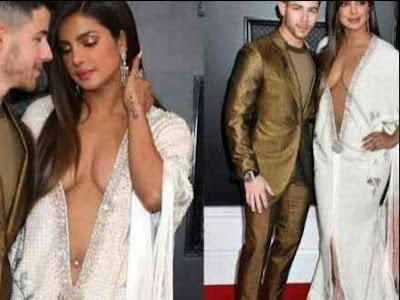 Priyanka Chopra' stunning dress at the Grammy Awards
