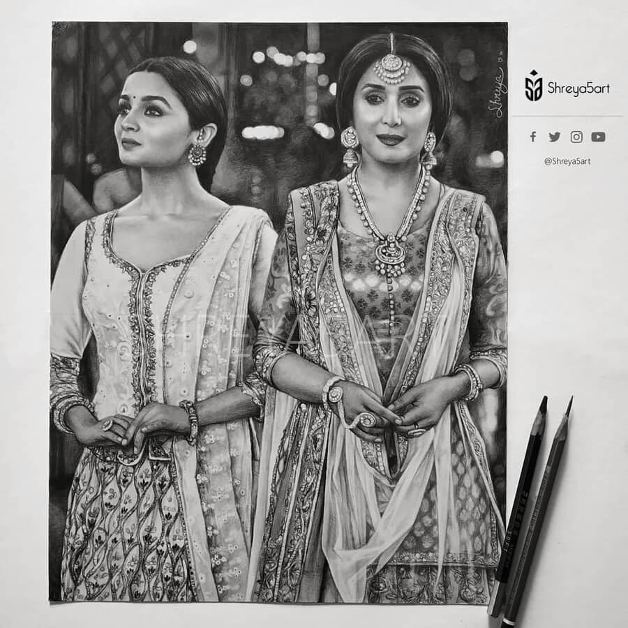 06-Indian-Clothing-Drawing-Shreya-www-designstack-co