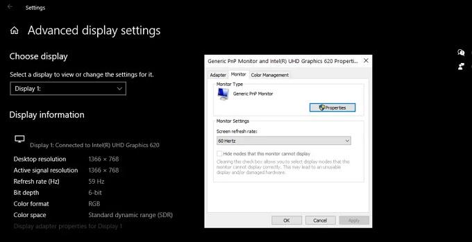 كيفية اصلاح جميع مشاكل العرض في شاشة الكمبيوتر