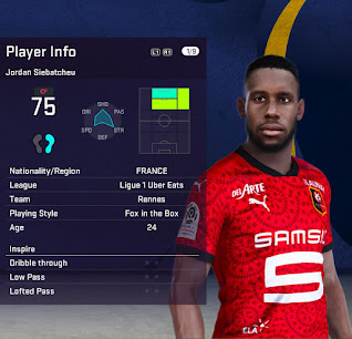 PES 2021 Faces Jordan Siebatcheu