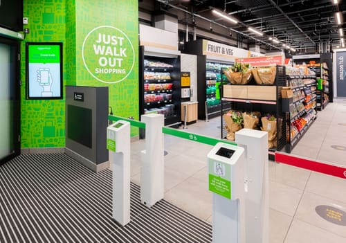 Amazon opened a grocery store in London without a cashier