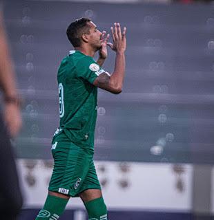 David Duarte chega ao sexto gol pelo Goiás e quer pensamento 'jogo a jogo' no Brasileirão