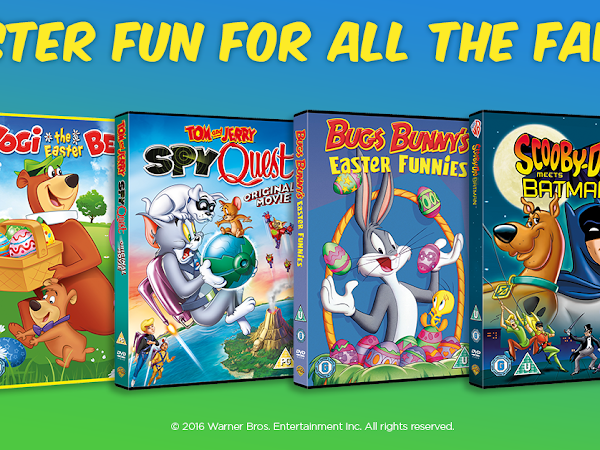 Warner Bros. Easter DVD Bundle Giveaway