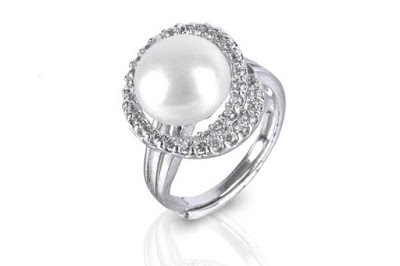 Shopping for Adjustable Near Round Silver Plated Freshwater Cultured Pearl
