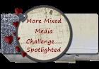Mixed Media Challenge - Spotlight badge.