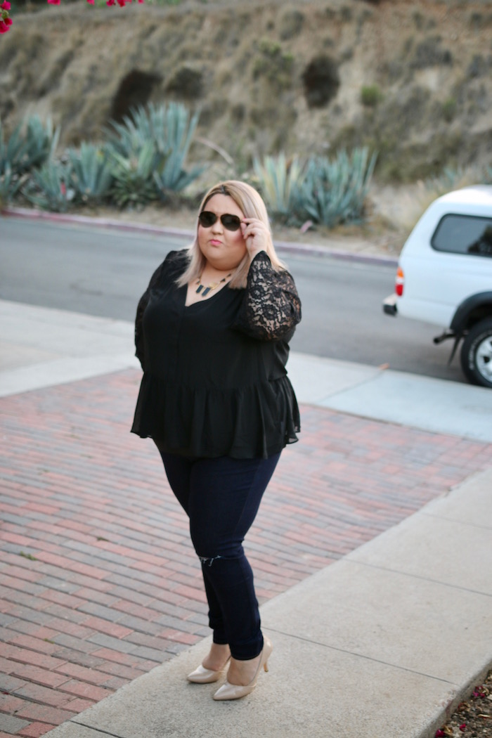 Plus Size Blogger San Diego