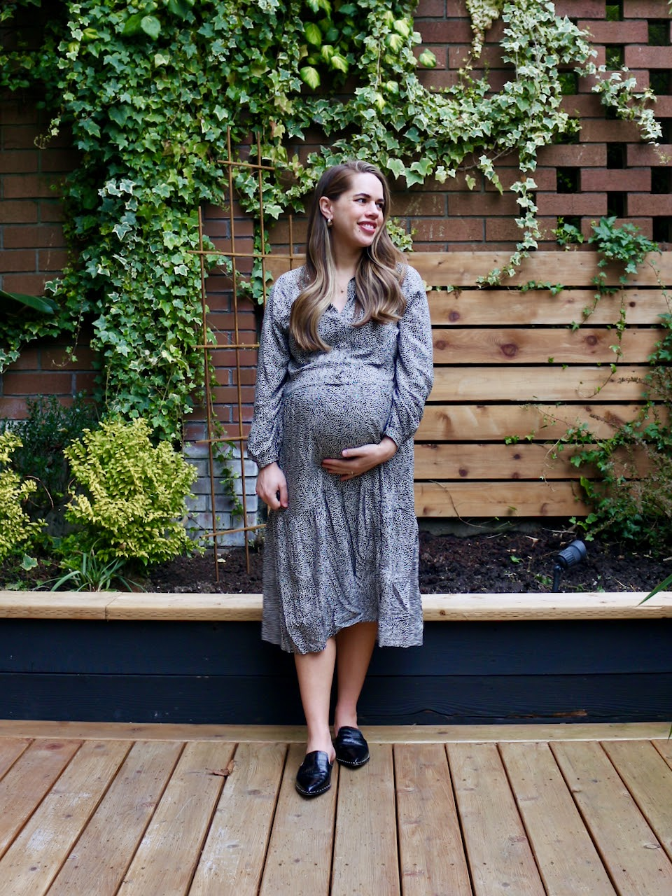 Jules in Flats - Leopard Print Maxi Dress (Business Casual Workwear on a Budget)