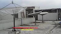 Memasang Antena Parabola Krendang, Kecamatan Tambora