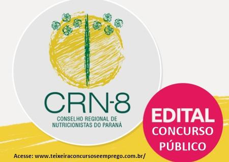 Edital concurso CRN 8 RN 2018