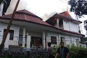 Asrama Papua di Tomohon Terbakar