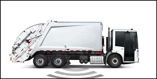 The Freightliner EconicSD comes standard with Detroit Assurance suite of safety systems, which includes side guard assist. Side guard assist utilizes radars to sense objects on the side of the truck and alerts the driver -- a particularly useful feature in the refuse industry, where vehicles operate on neighborhood streets and crowded urban areas.