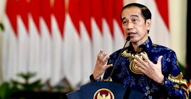 Di Depan Ketum Parpol, Jokowi Klaim Indeks Kepercayaan Publik ke Pemerintah Naik