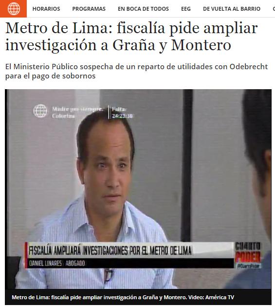 Daniel Linares Avilez: Metro de Lima: fiscalía pide ampliar ...