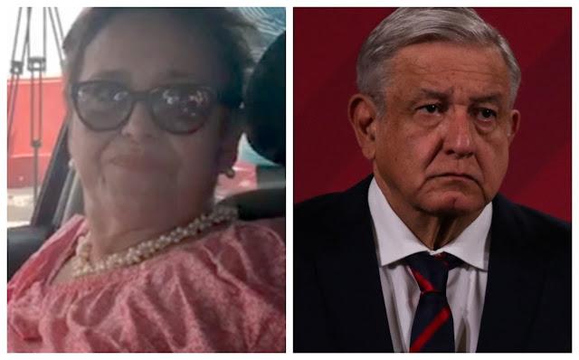 Ultima hora duro golpe a AMLO, muere su hermana Candelaria Lopez Obrador