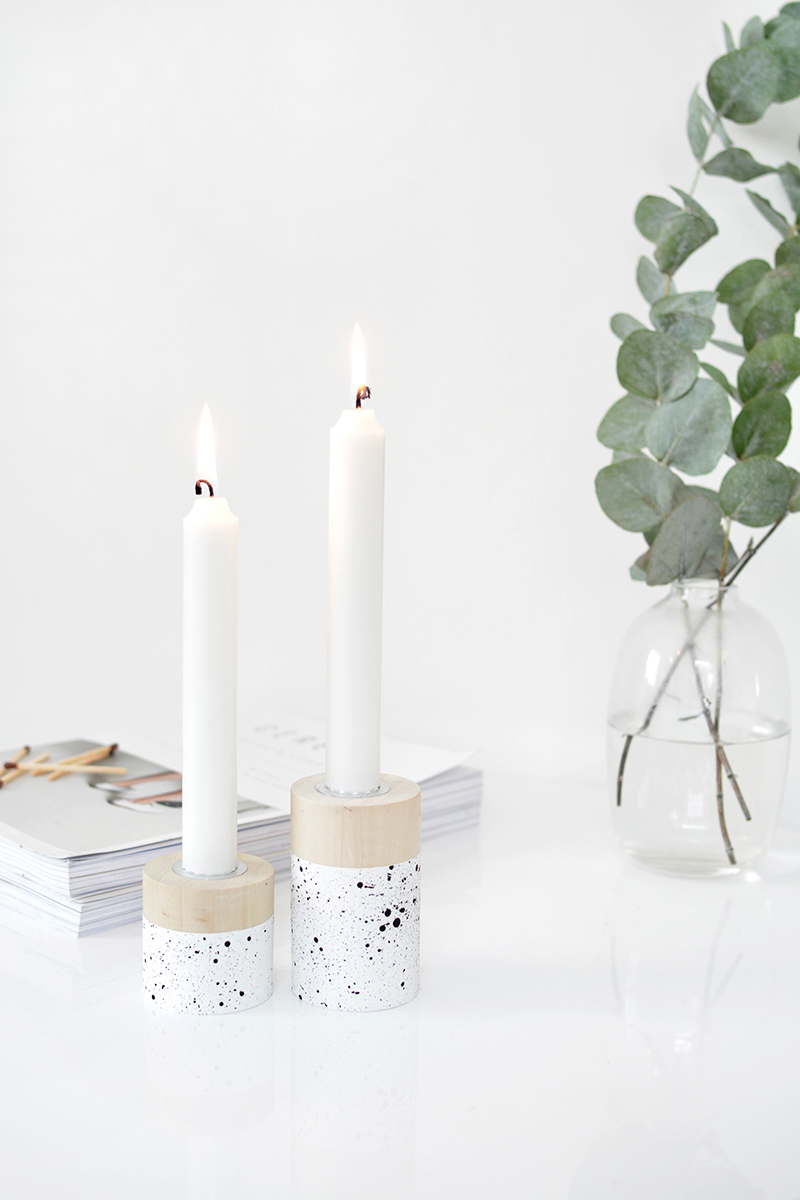 DIY candlestick