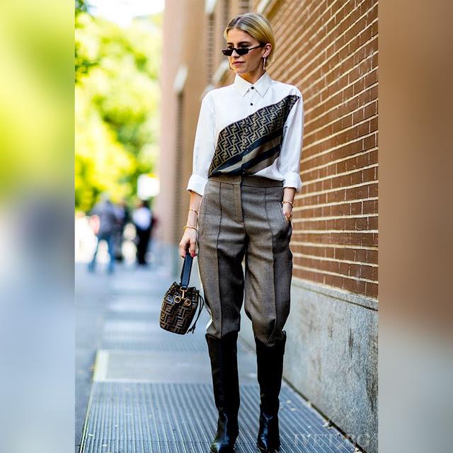 Στυλάτο χρωματιστό γυναικείο πουκάμισο MELISA