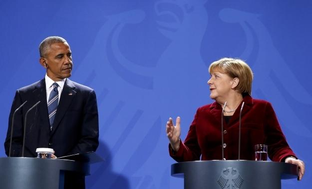Ύμνοι Οbama για την A. Merkel - Ούτε λέξη για Ελλάδα