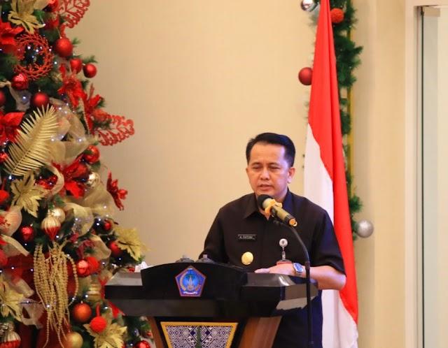 Pjs Gubernur Agus Fatoni Lantik Pengurus Syiar Muslimah Indonesia (SMAI) Sulut Periode 2020-2023, Ini Harapannya