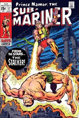 Sub-Mariner #17, the Stalker