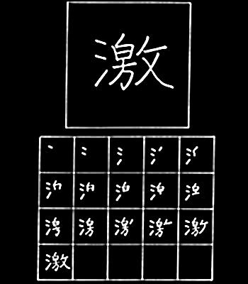 kanji intense