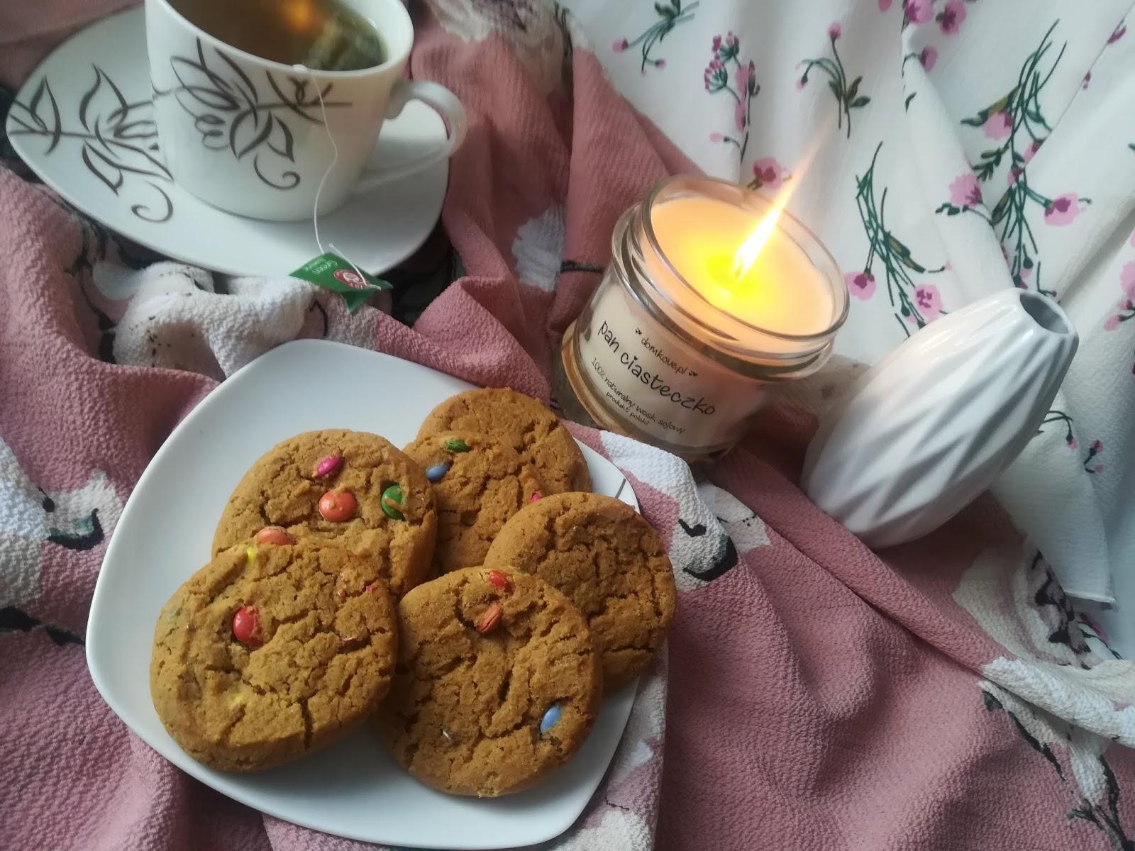 pan ciasteczko świeca sojowa domkove