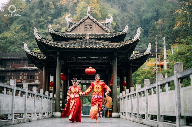 Ý tưởng sáng tạo cho bộ hình cưới tại Trung Quốc