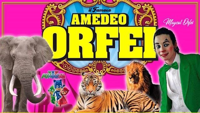 AD AMANTEA GRANDE SUCCESSO DEL CIRCO AMEDEO ORFEI. INDIMENTICABILE!