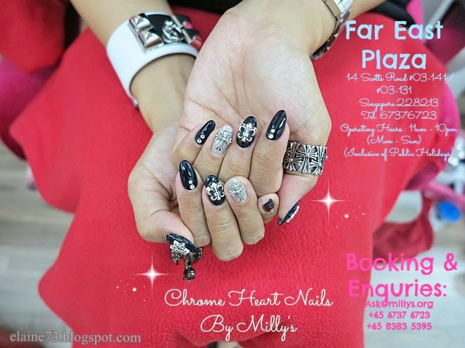 My Monthly Nail Indulgence at Milly\'s - Chrome Hearts Nails ...