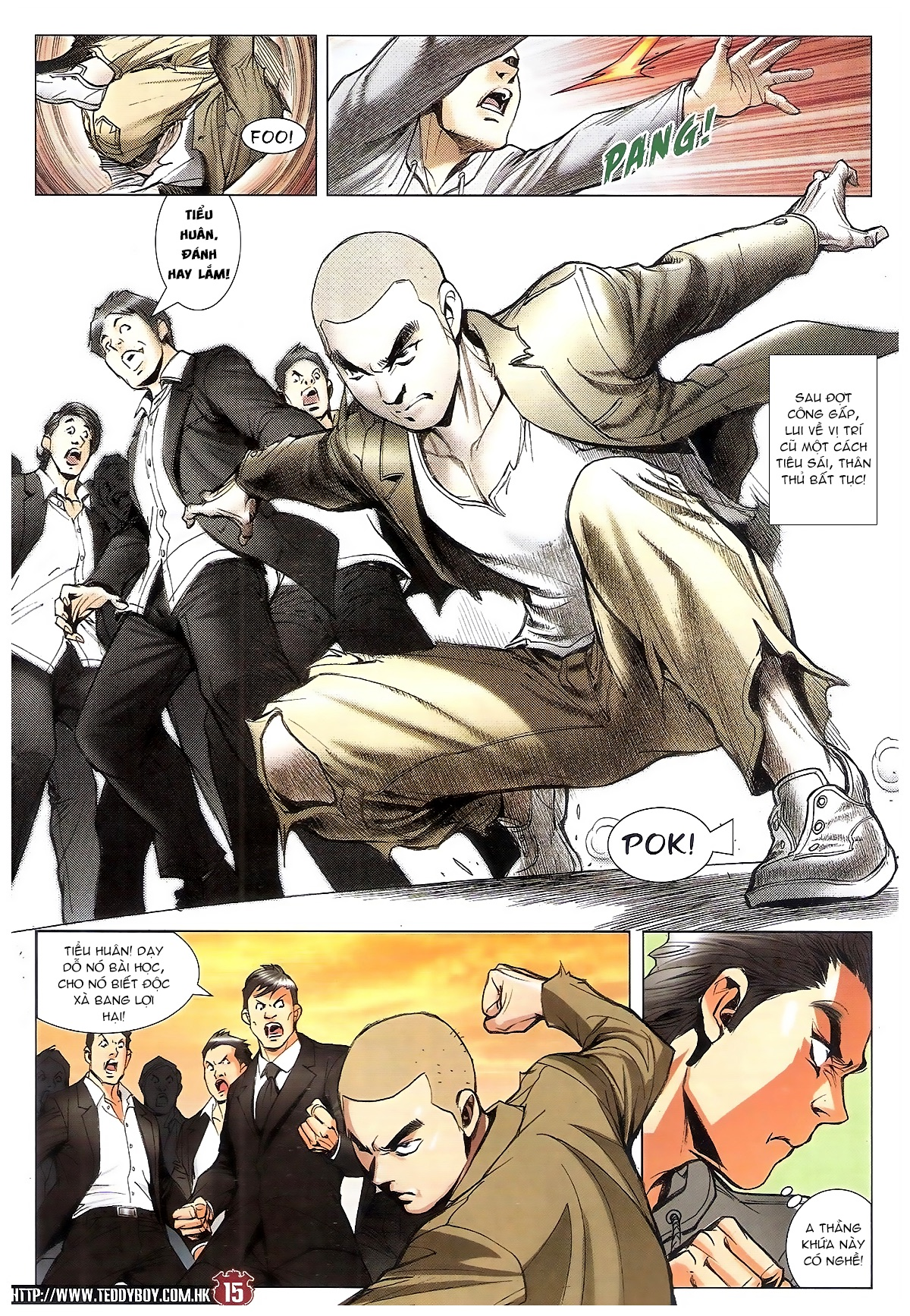 Người Trong Giang Hồ chapter 1795: hoàng tiên sinh trang 14
