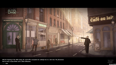 Coffee Noir Business Detective Game Screenshot 3