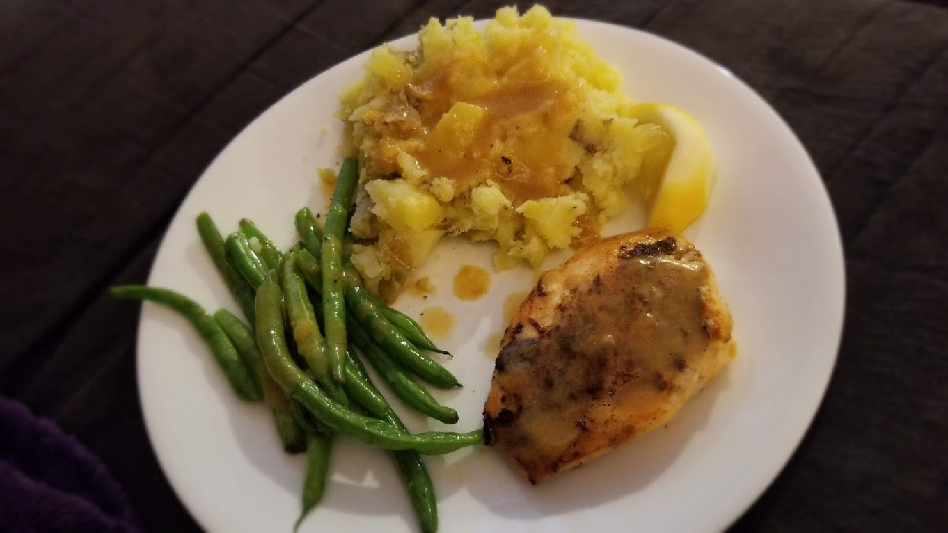 Lemon Pepper Chicken, from Dinnerly