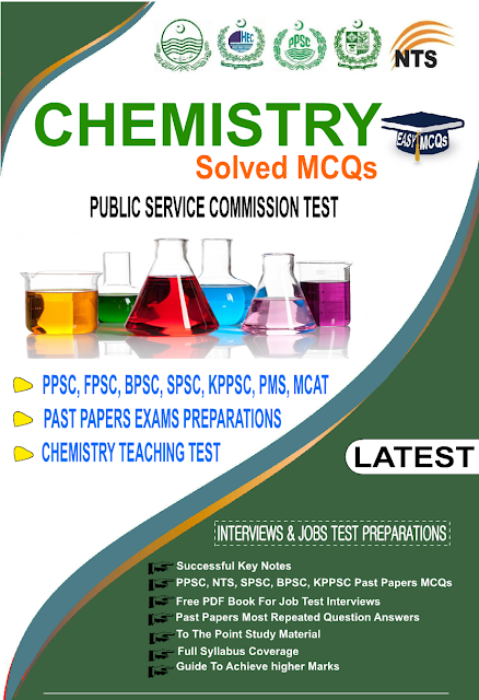 Chemistry Solved MCQs With Answers In PDF Easy MCQs Guide